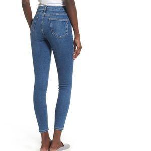 Jamie Indigo High Waist Skinny Jeans